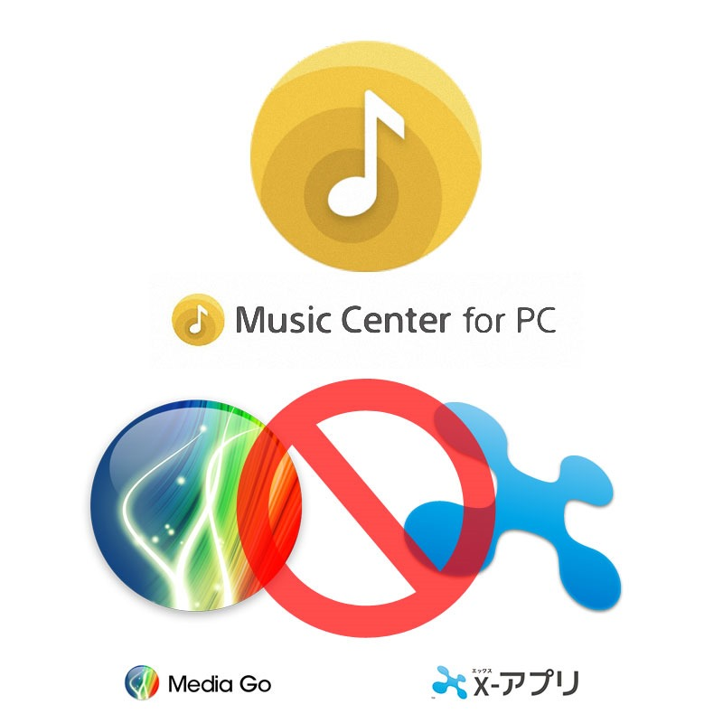 ソニー、ウォークマン利用者に「Music Center for PC」への移行を強要、12月以降「Media Go」、「x,アプリ」での「mora」利用を不可能に