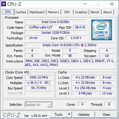 NUC8i5BEH-review-CPU-Z-NUC8i5-01